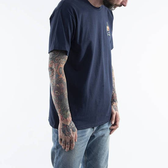 T-shirt HUF Come Down TT S/S Tee TS01171 FRENCH NAVY