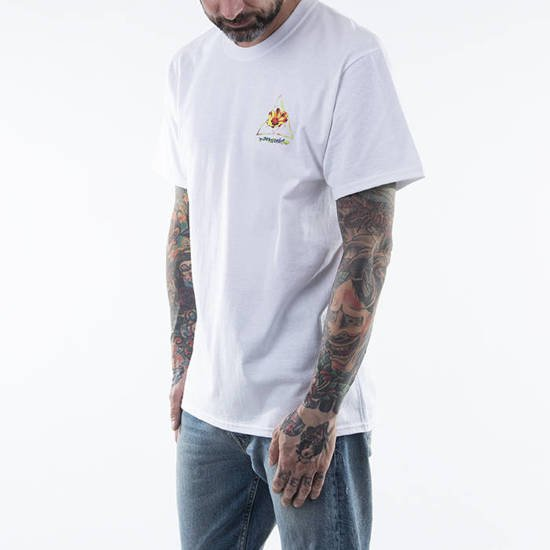 T-shirt HUF Come Down TT S/S Tee TS01171 WHITE